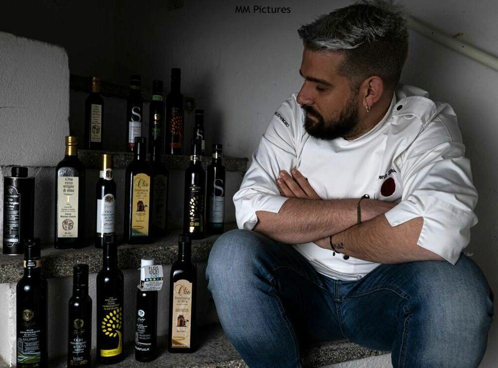 Foto dello chef Lorenzo Cantoni
