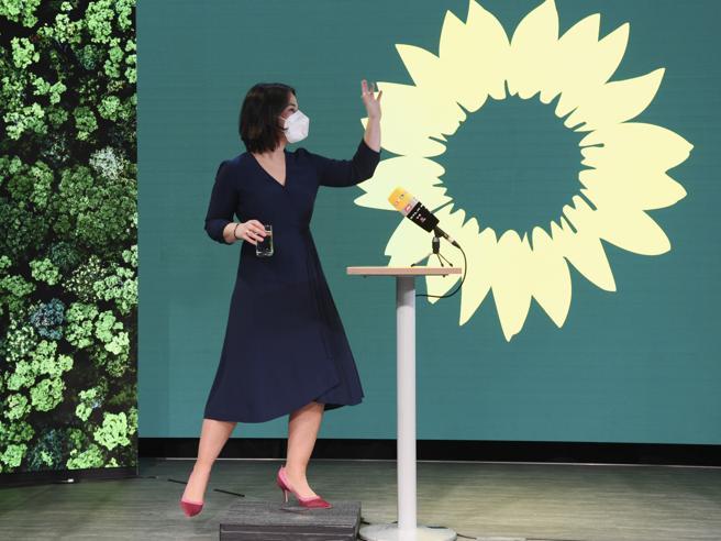 Annalena Baerbock candidata partito Verdi