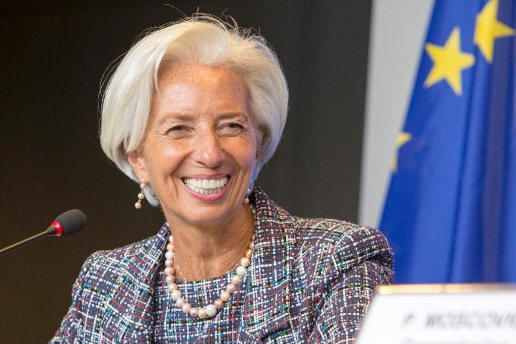 Foto di Christine Lagarde, presidente Bce