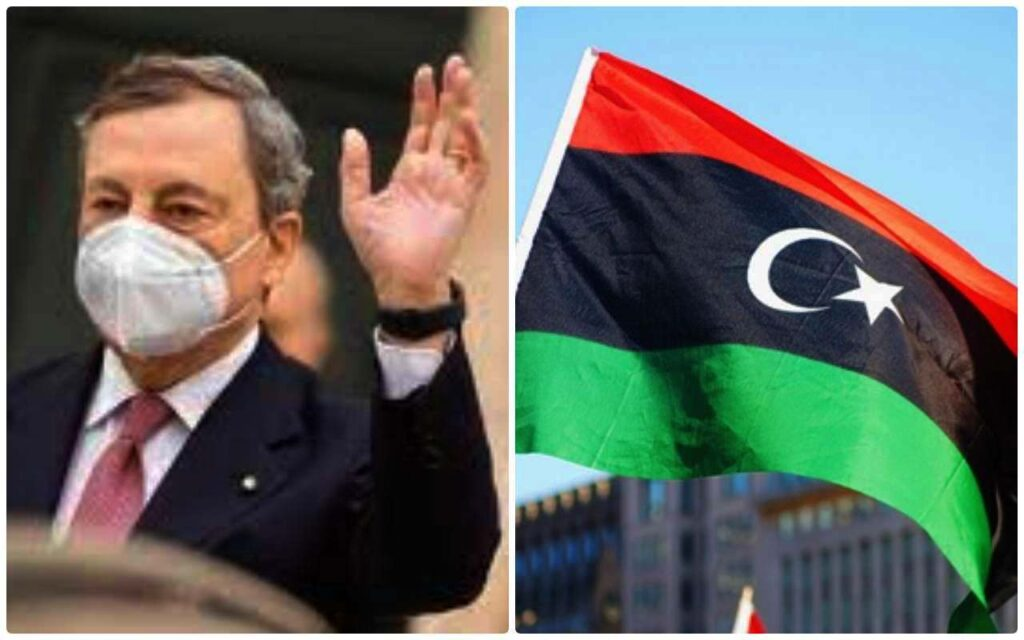 Il premier Draghi vola in Libia