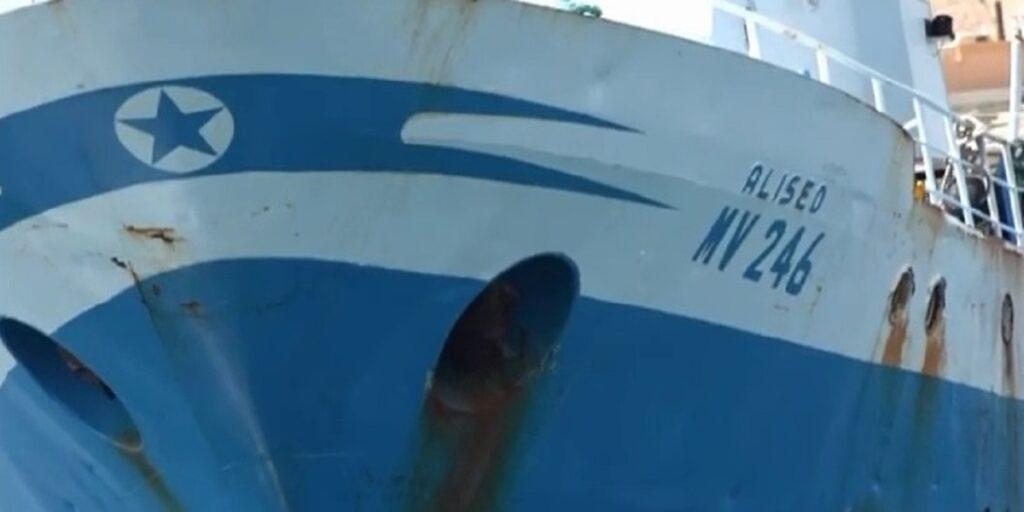 Foto del peschereccio 'Aliseo'