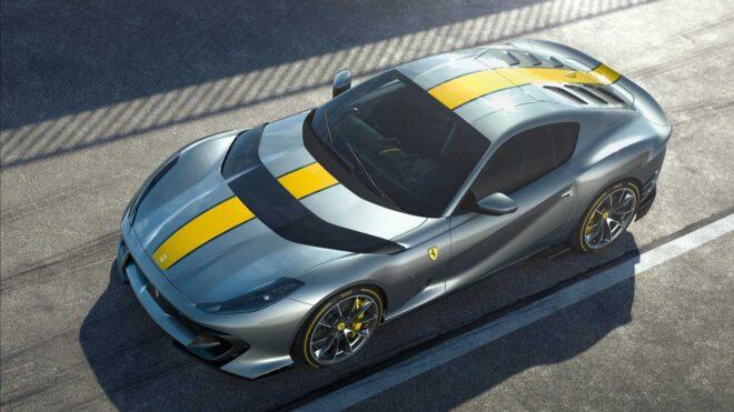 Foto della nuova Ferrari