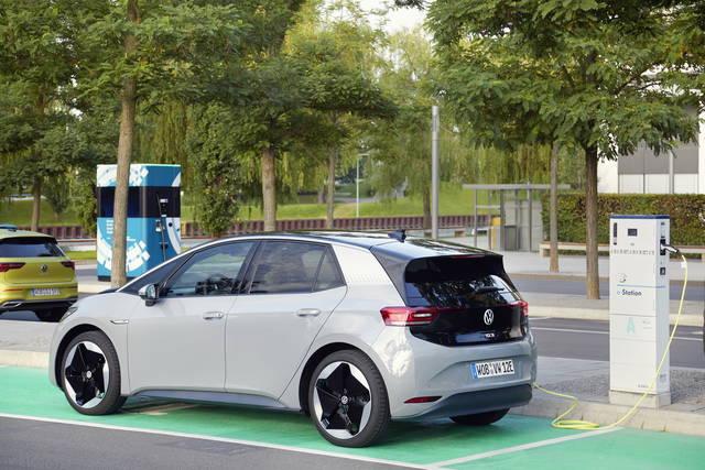 Foto di auto elettrica