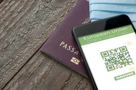 Foto di certificazione per viaggi