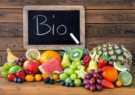 Foto di prodotti biologici