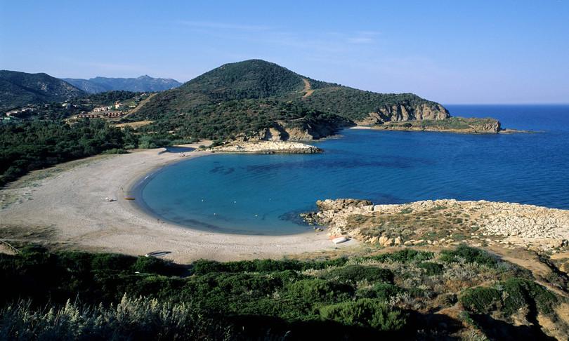 Foto di una delle spiagge della Sardegna