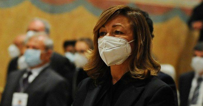 Foto della presidente della regione Umbria Donatella Tesei