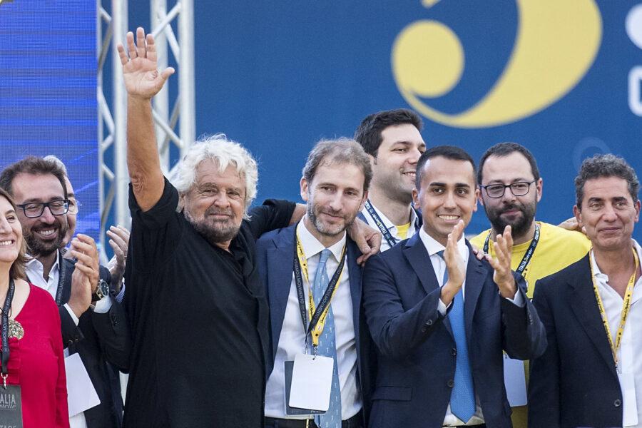 Beppe Grillo Davide Casaleggio
