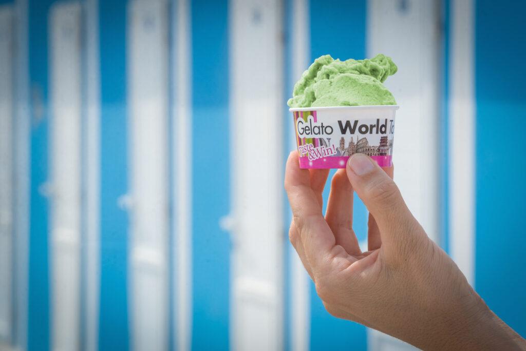 Foto del gelato italiano, leader mondiale