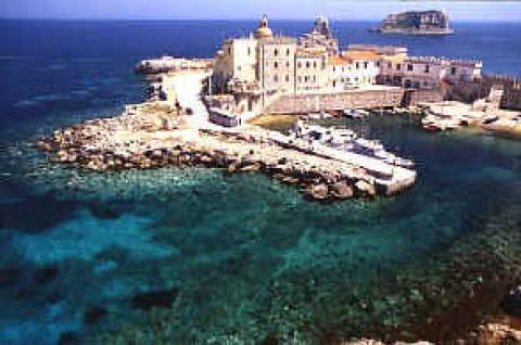 Foto dell'isola di Gorgona