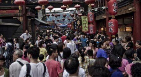 la popolazione cinese