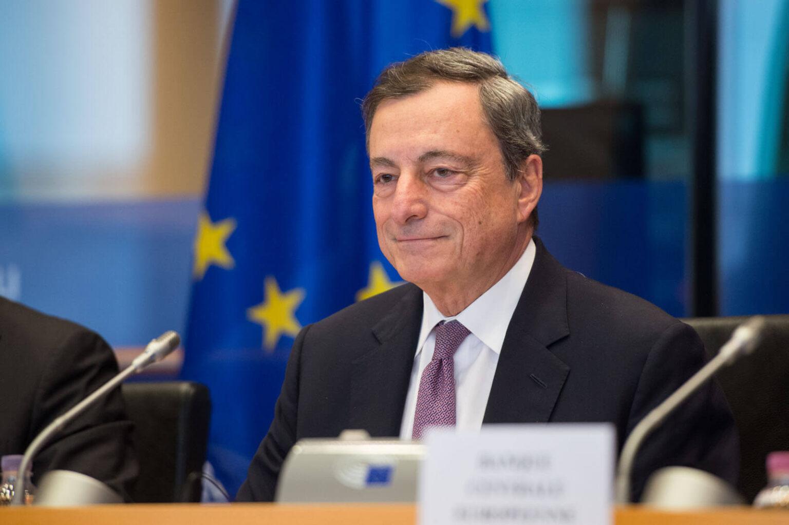 Mario Draghi Moderna