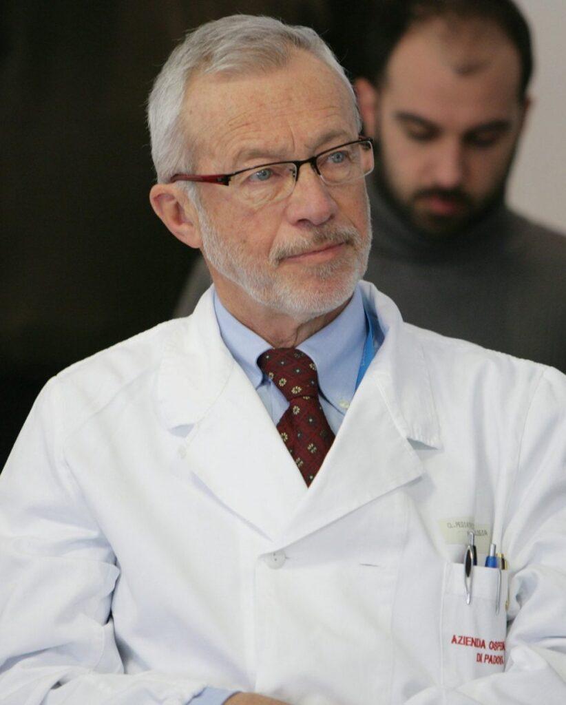 Il professor Modesto Carli, ex direttore della clinica di Oncoematologia Pediatrica di Padova