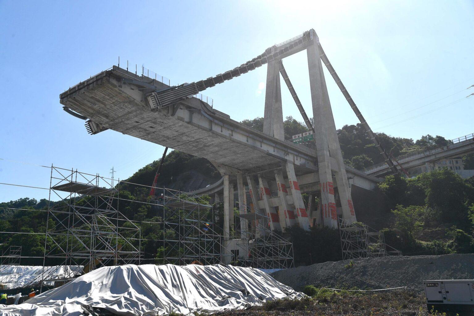 Ponte Morandi, novità sul crollo