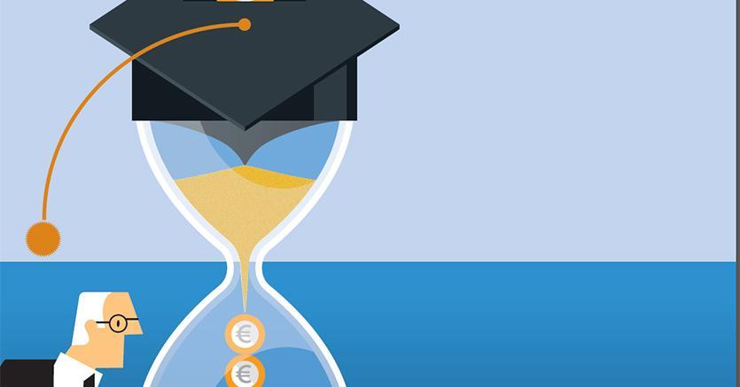 Rappresentazione del riscatto di laurea