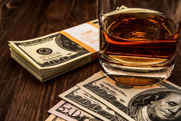 Foto dell'investimento nel whisky