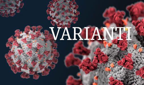 Foto varianti del coronavirus