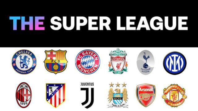Foto dei Club Fondatori della Super League