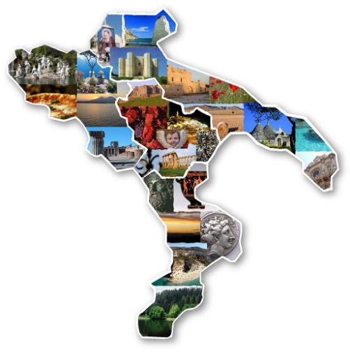 Rappresentazione Sud Italia