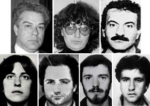 Foto dei terroristi arrestati in Francia