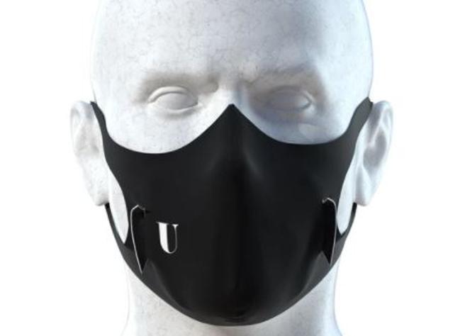 Foto del nuovo modello della mascherina U-Mask