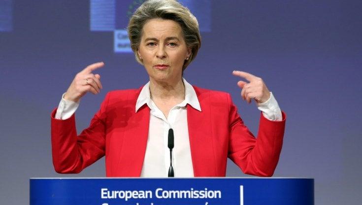 Foto della Presidente della Commissione Europea
