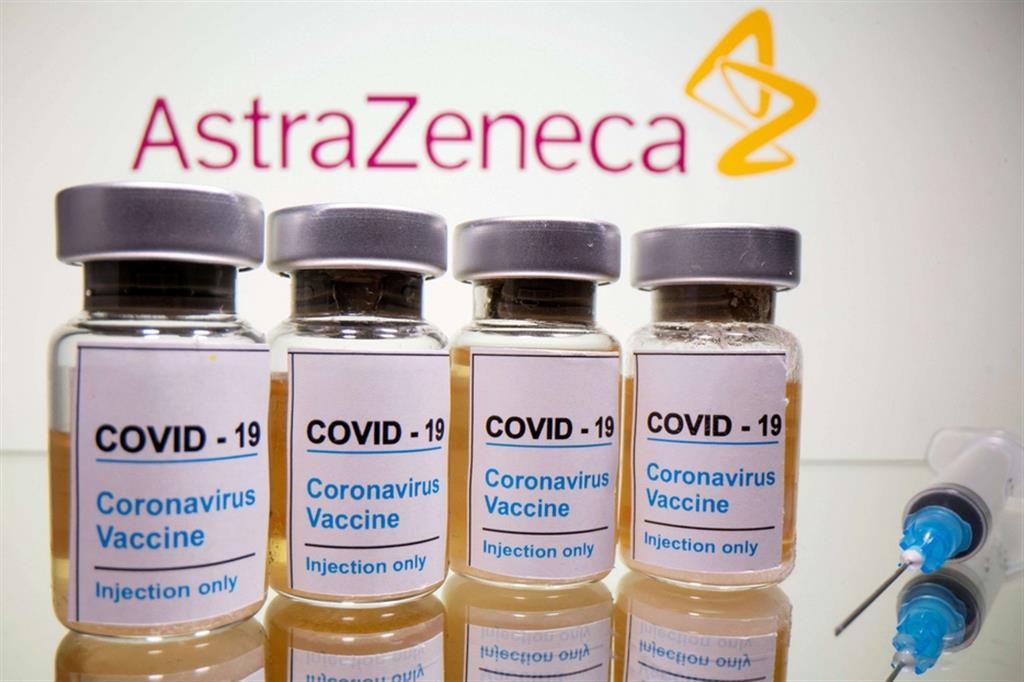 Foto del vaccino AstraZeneca