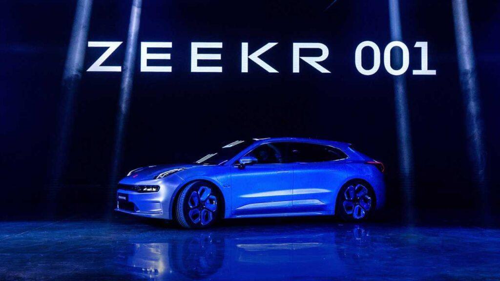 Zeekr 001, la nuova automobile che si ricaricherà in 5 minuti