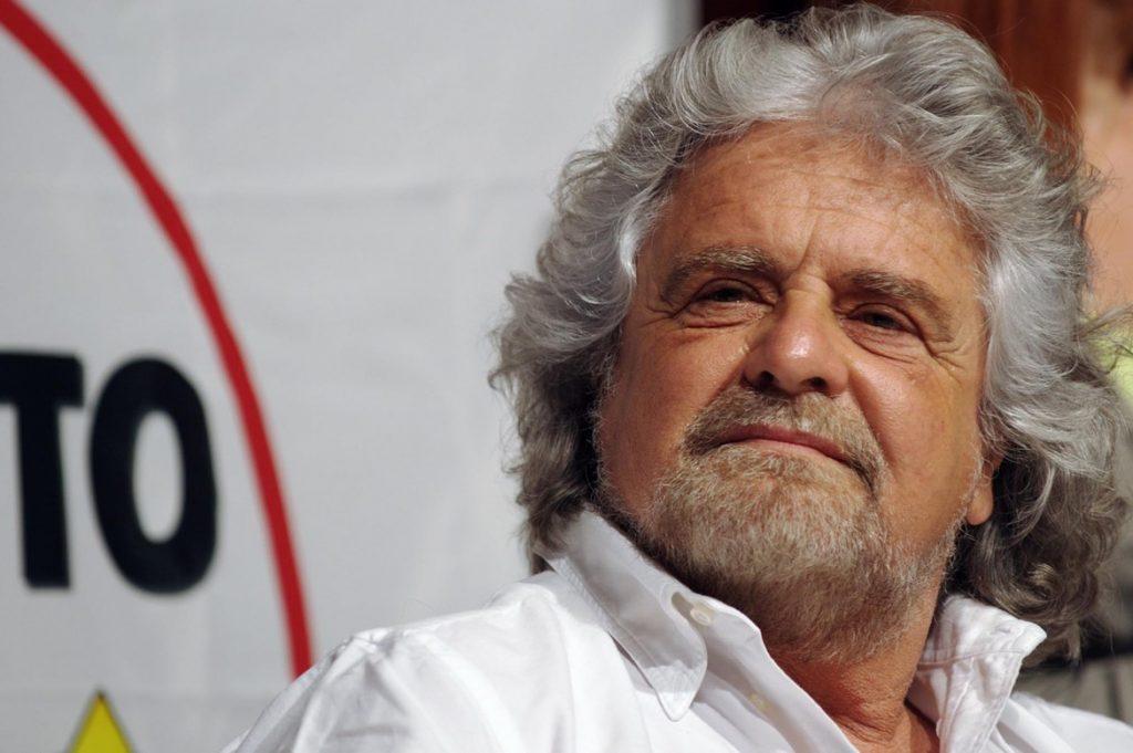 Foto del politico e comico Beppe Grillo