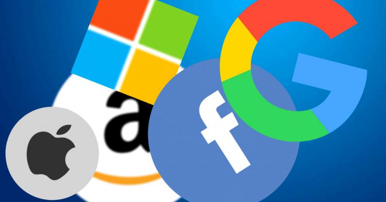 Loghi delle maggiori aziende tecnologiche