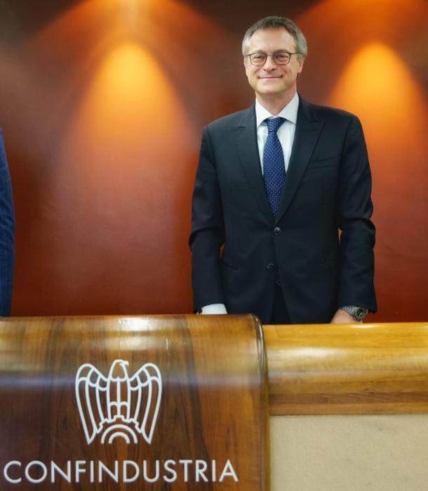 Foto di Carlo Bonomi, presidente di Confindustria