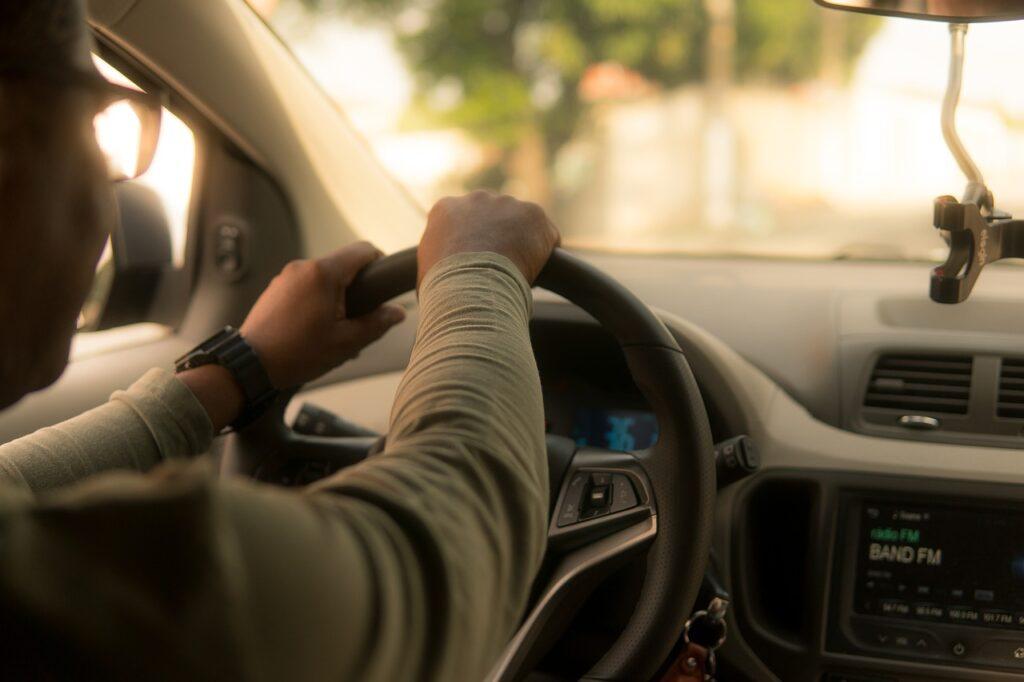 Immagine di un autista
