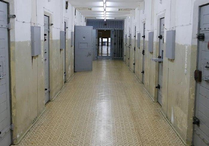 Foto di un personale in carcere