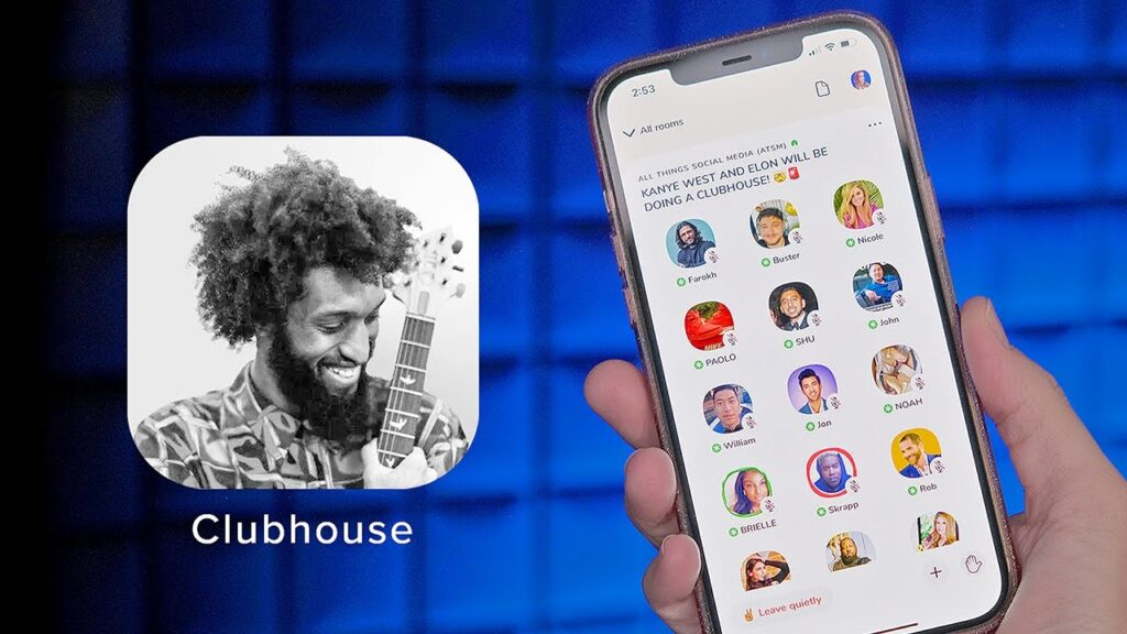 Foto della piattaforma Clubhouse