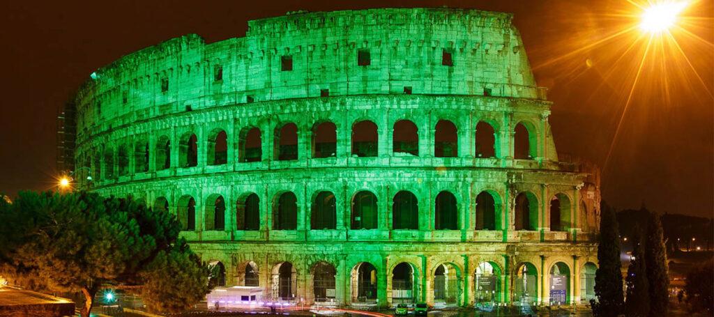 Colosseo Global Greening 2021