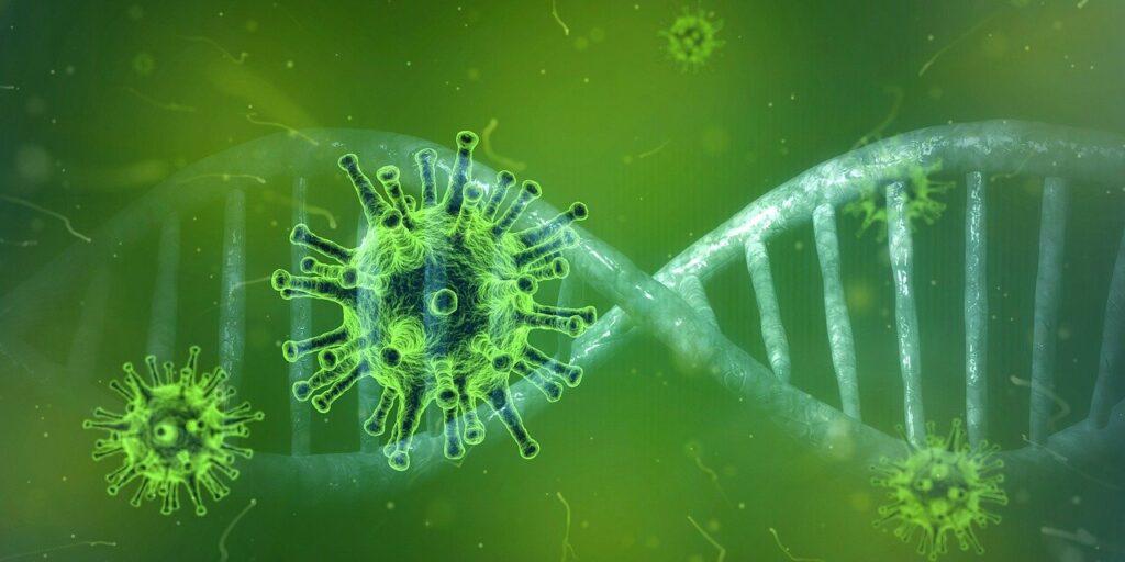 Mutazione di un virus