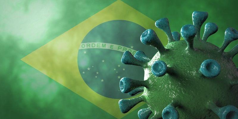 Covid variante brasiliana più contagiosa