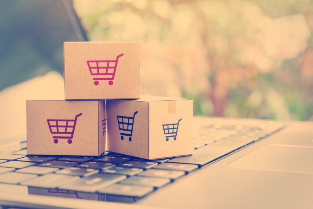 Foto dell'E-commerce
