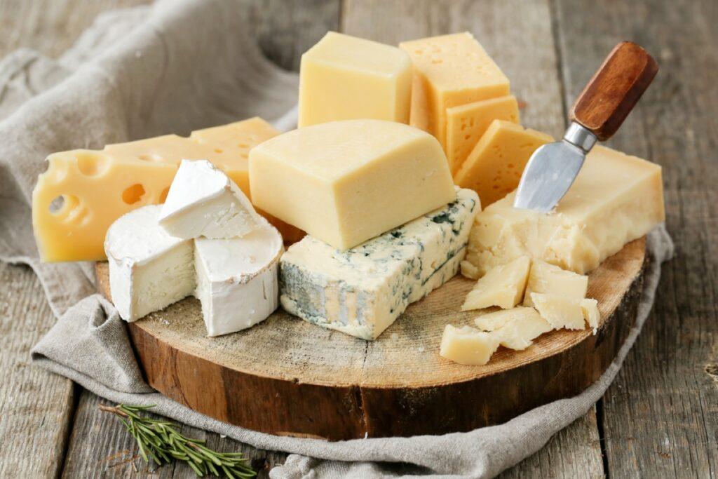 Foto dei formaggi italiani