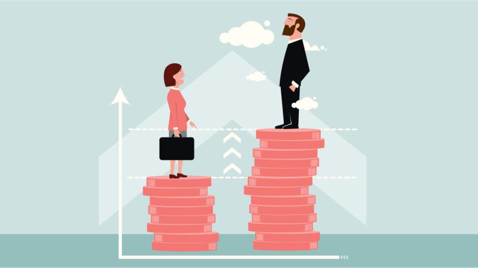 Immagine gender pay gap