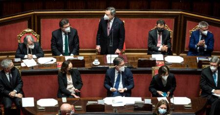 Draghi in aula per lavorare sul nuovo decreto