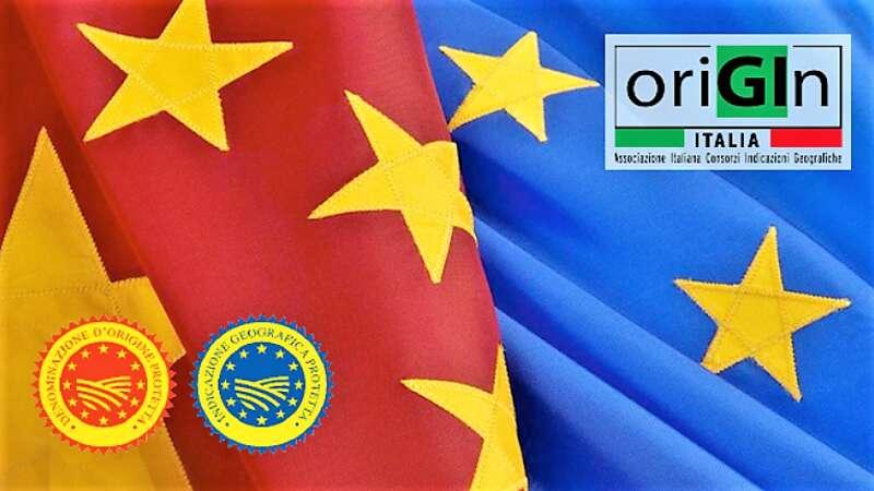 Immagine Cina e Italia, Origin