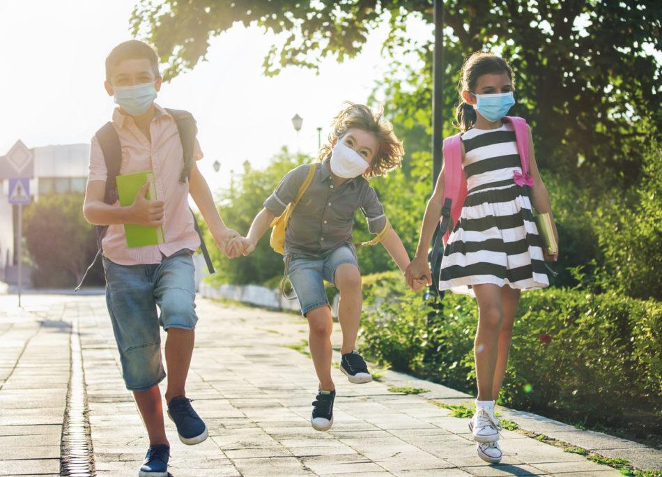 Foto delle scuole aperte in estate
