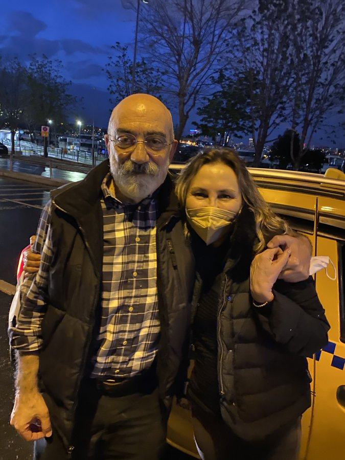Liberazione Ahmet Altan e Nazli Ilicak