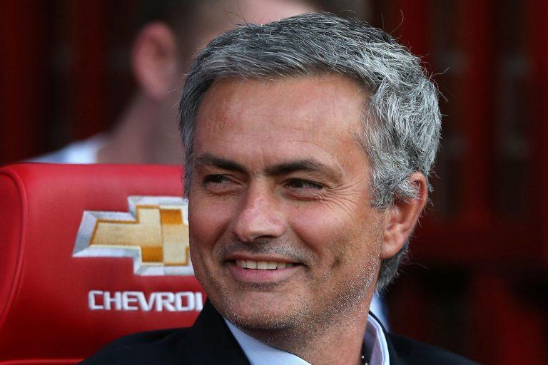 Josè Mourinho in campo