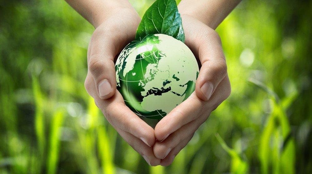 Foto pianeta verde