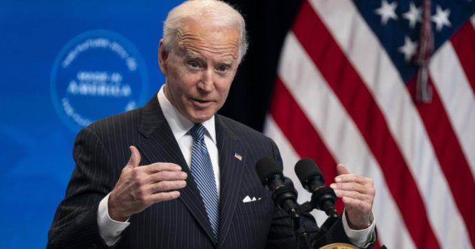 Foto del presidente americano Joe Biden