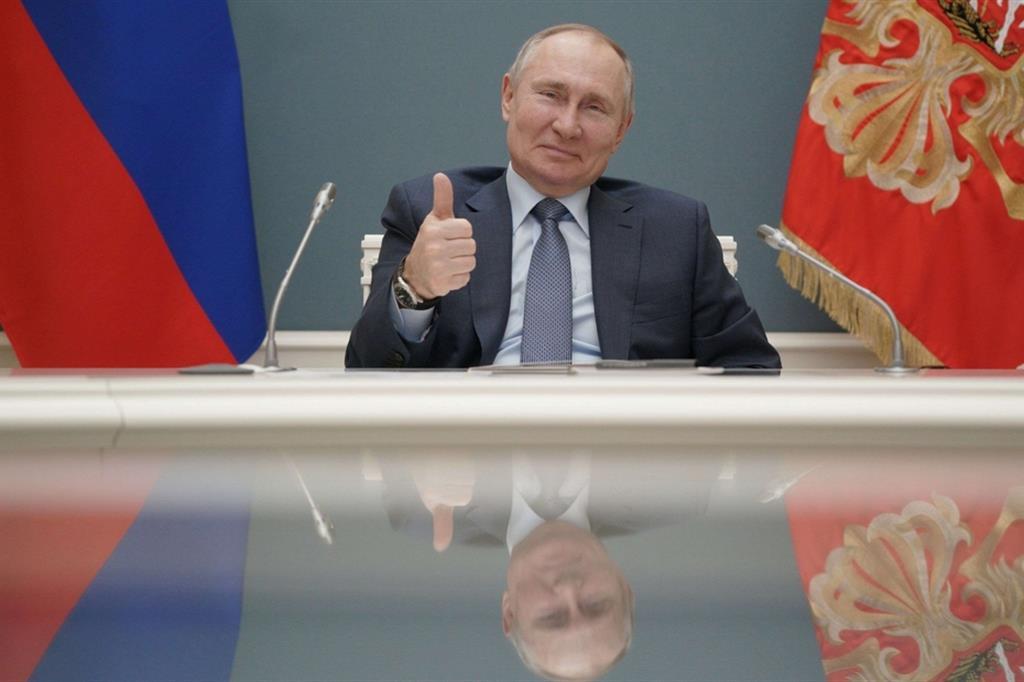 Presidente russo Putin