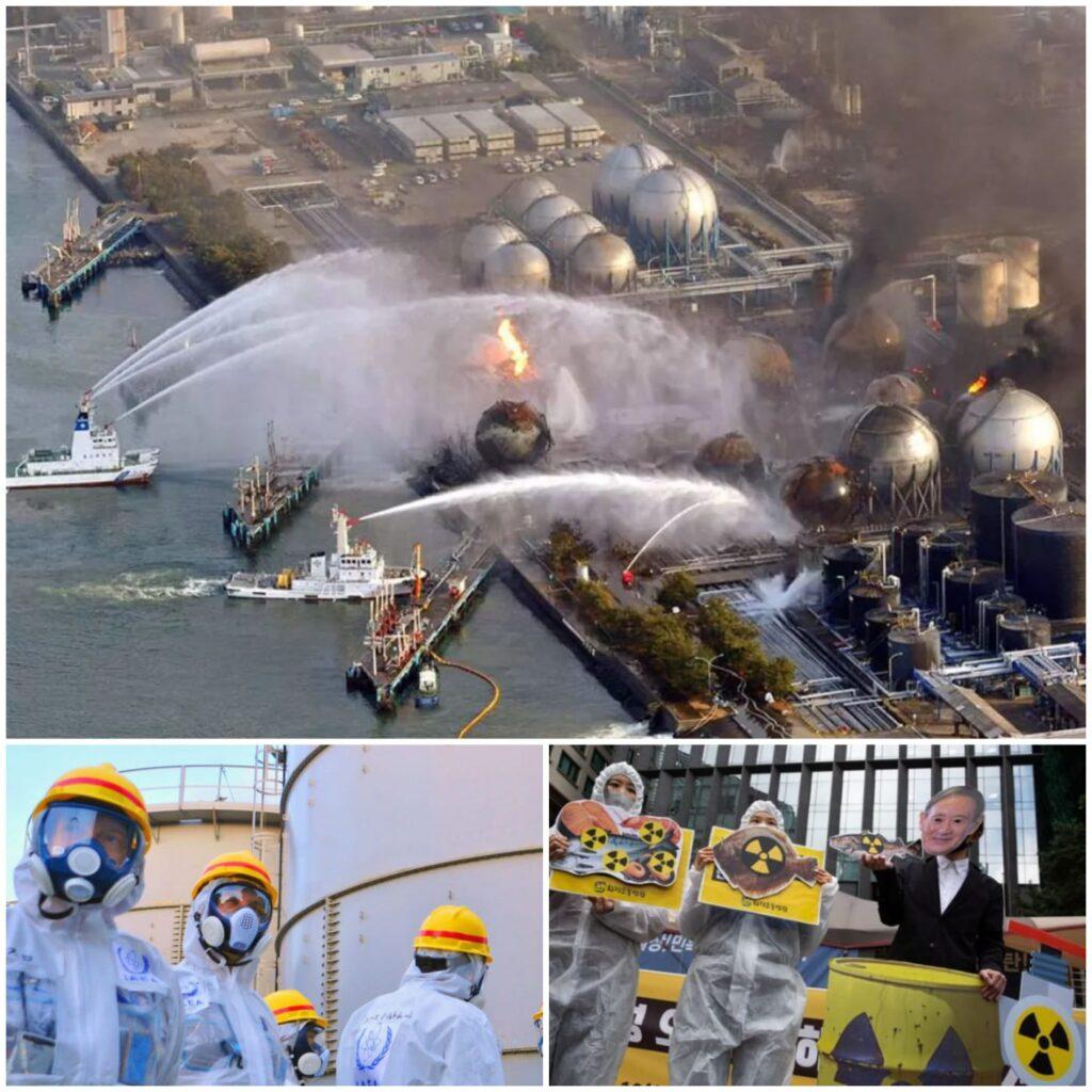 Rilascio acque contaminate Fukushima