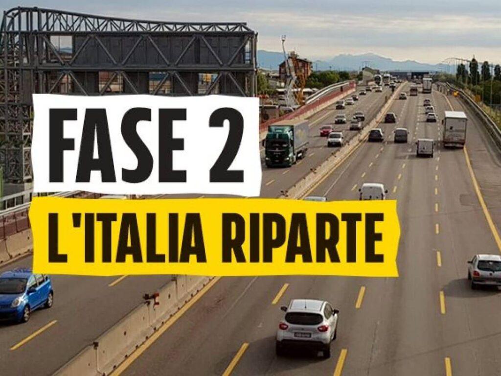 Una ripartenza graduale condurrà l'Italia fuori dal lockdown